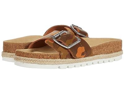 J/Slides Lust (Tan Camo Leather) Women