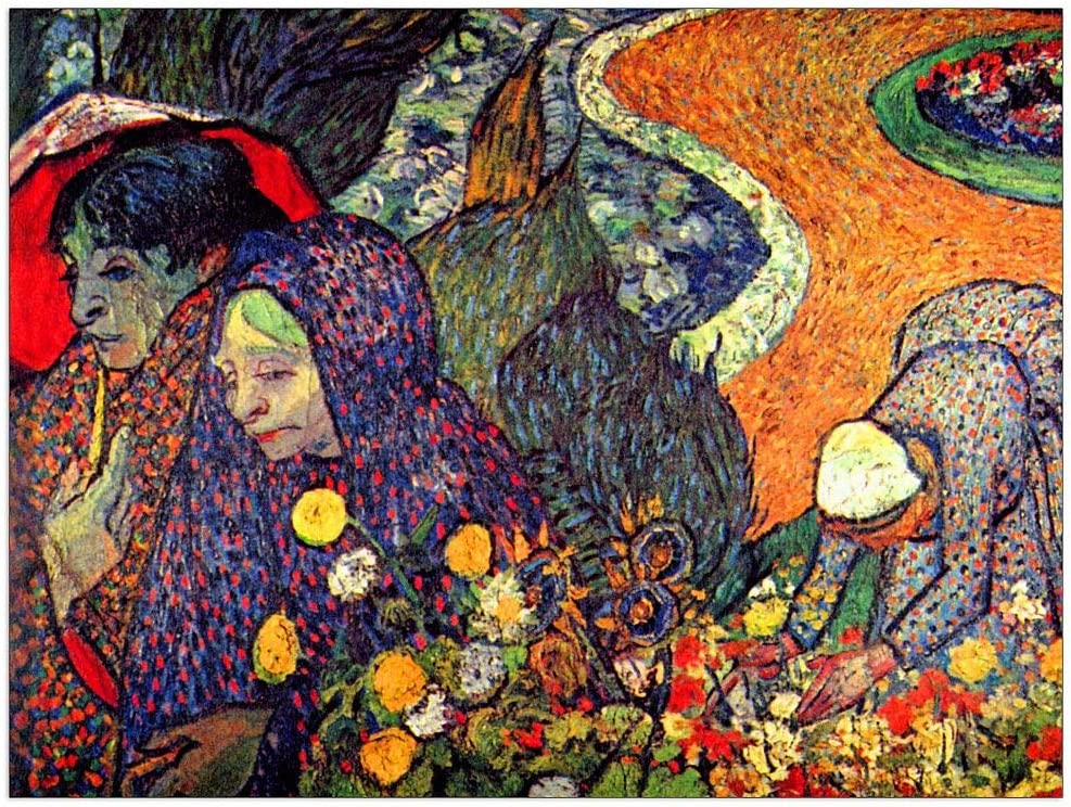 ArtPlaza Van Gogh Vincent - Walk Classic Philadelphia Mall the memory in of garden Arles