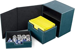 BCW Deck Vault Box LX Teal (Holds 100 Cards) Card Box