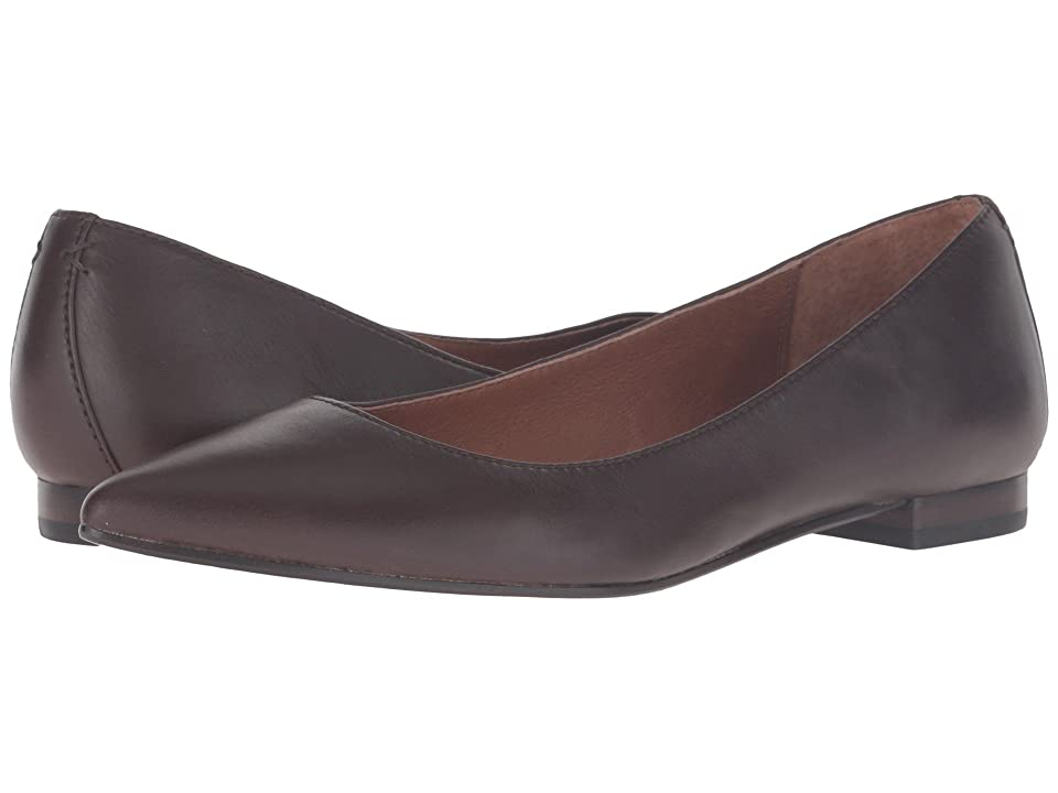 Frye Sienna Ballet (Chocolate Soft Full Grain) Women
