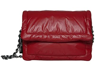 Marc Jacobs The Pillow Bag (Cranberry) Handbags