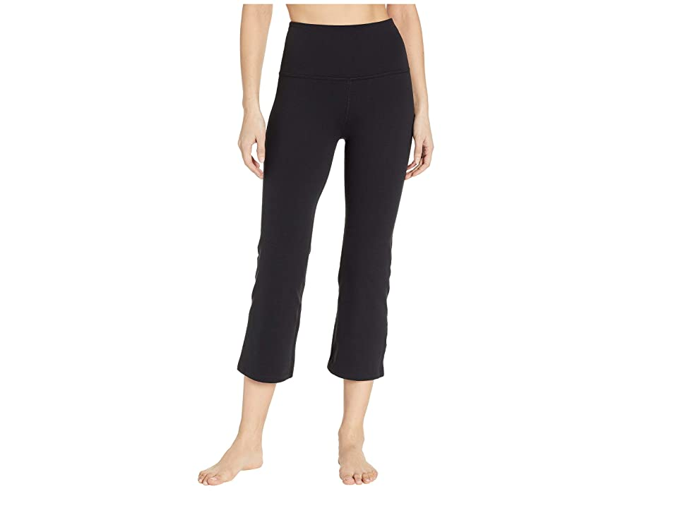 Beyond Yoga High-Waisted Original Capri Leggings (Jet Black) Women