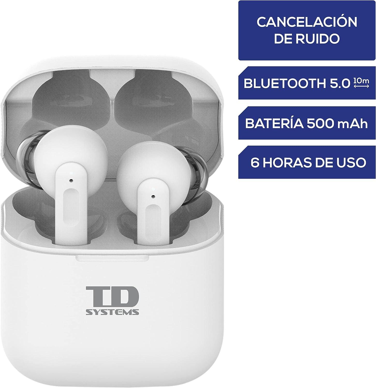 Auriculares Bluetooth inalámbricos TD Systems con cancelación de ruido por 39,50€