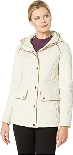 Hooded Quilt Double Pocket Jacket