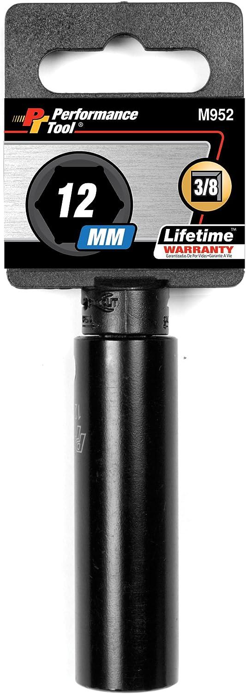 Performance Tool M956 3//8 16mm DW Impact Socket