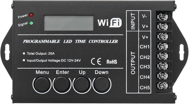 diseño único ChaRLes Programmable Led Time Wifi Controller Tc421 Tc421 Tc421 Dc12V-24V Common Anode Led Work Light Controller  opciones a bajo precio