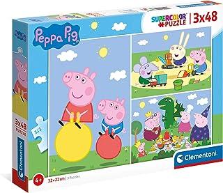Clementoni- Peppa Pig Puzzle Infantil, Multicolor (25263)