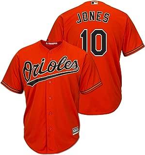 Outerstuff Adam Jones Baltimore Orioles Orange Youth Cool Base Alternate Replica Jersey