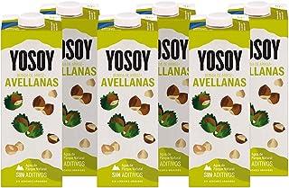 Yosoy - Bebida de Arroz con Avellanas - Caja de 6 x 1L