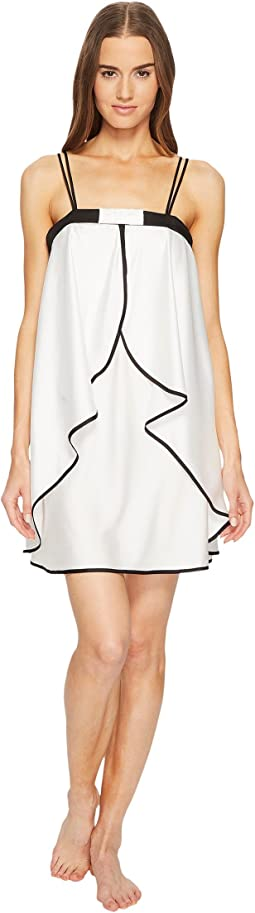 Off-White Satin Chemise