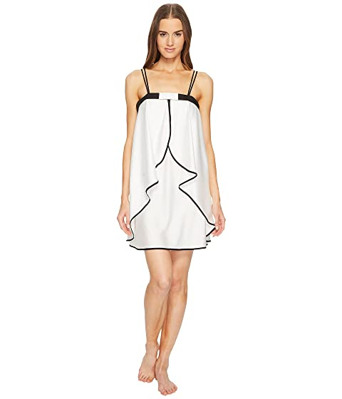 Kate Spade New York Off-White Satin Chemise