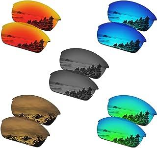 SmartVLT Set of 5 Men's Lenses for Oakley Flak Jacket Sunglass Combo Pack S02