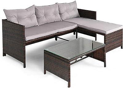 Amazon.com: Great Deal Furniture Lorelei - Juego de sofá y ...