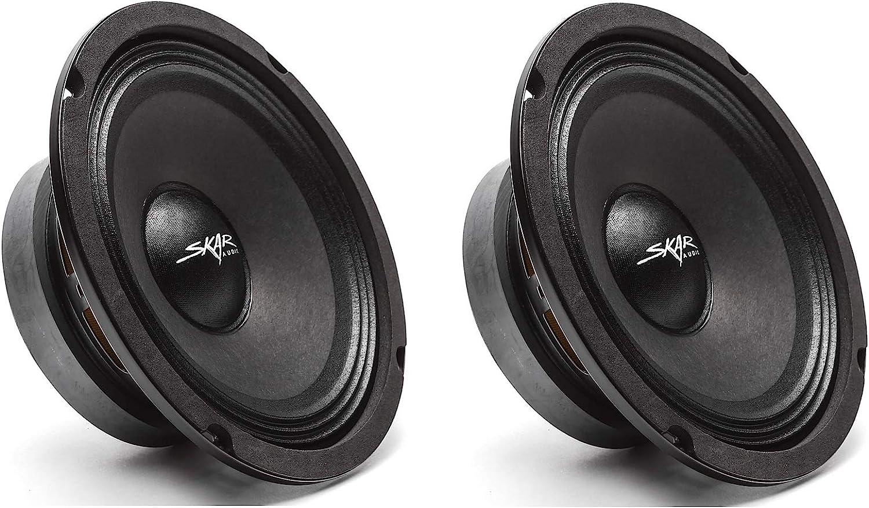 FSX65-4 300 Watt 6,5 4 Ohm MID-Range Lautsprecher 2 Lautsprecher schwarz FSX65-4 2 2 Skar Audio