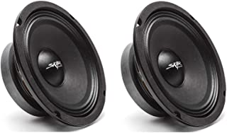 Skar Audio (2) FSX65-4 (2) FSX65-4 300-Watt 6.5-Inch 4 Ohm MID-Range Loudspeakers - 2 Speakers Black