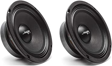 $39 » Skar Audio (2) FSX65-4 (2) FSX65-4 300-Watt 6.5-Inch 4 Ohm MID-Range Loudspeakers - 2 Speakers Black
