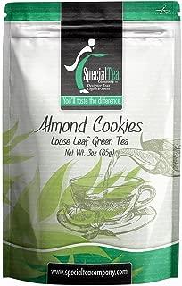 Special Tea Company Almond Cookies, Loose Leaf Green Tea 3 oz.