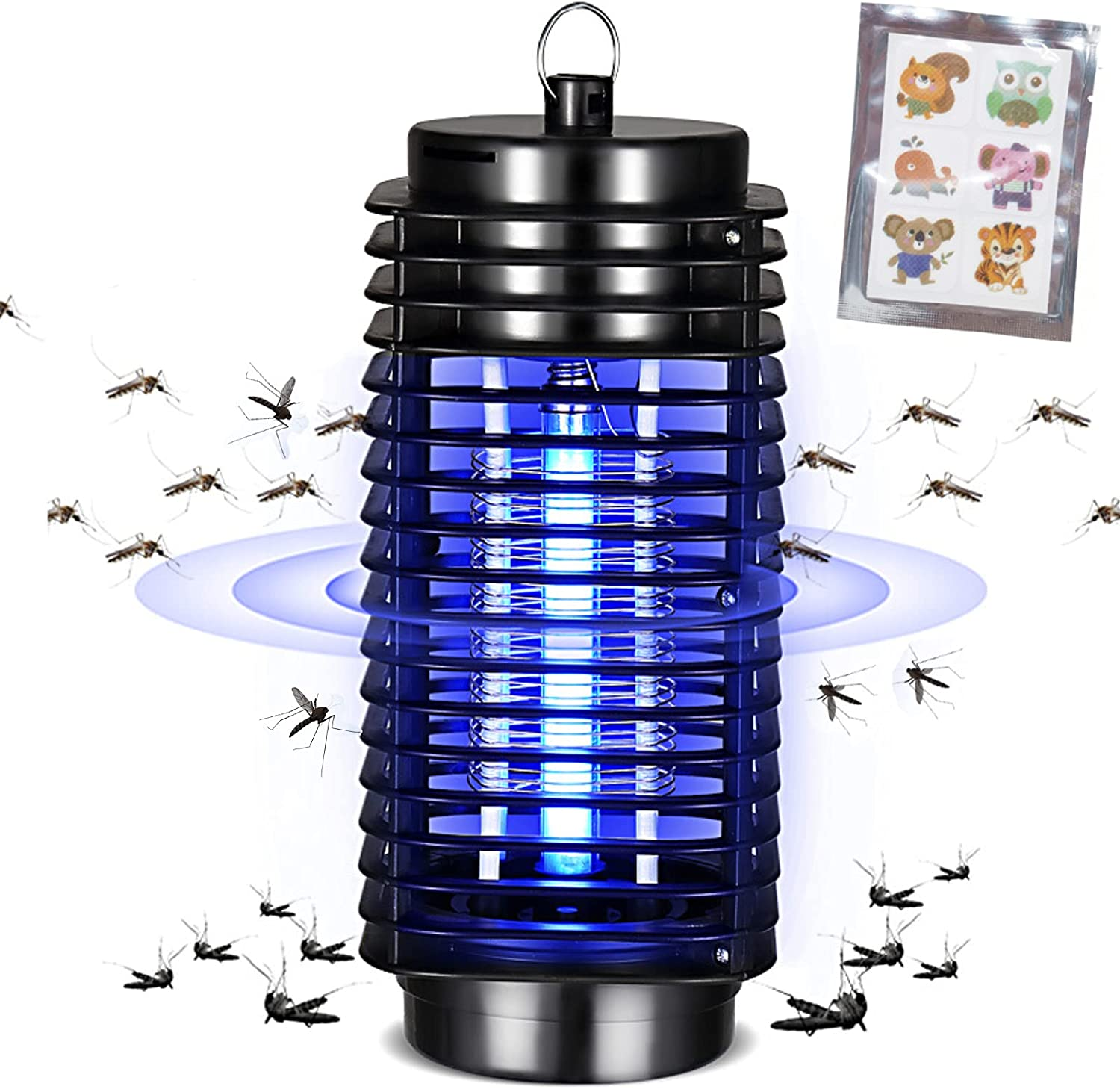 Bug Zapper,Electronic Mosquito Zappers for Indoor & Outdoor,Mosquito Trap,Mosquito Killer,Fly Zapper,Gnat Killer for Indoor,Indoor Bug Zapper for Home,Bedroom, Kitchen,Office,Backyard,Patio