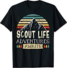 Scout Life Adventures Awaits Scouting life gift T-Shirt