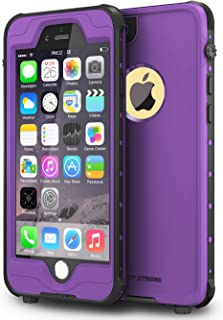 ImpactStrong iPhone 6 Plus 5.5 inch Waterproof Case [Fingerprint ID Compatible] Slim Full Body Protection for Apple iPhone 6 Plus & 6s Plus (5.5
