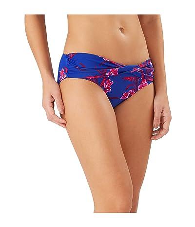 Tommy Bahama Oasis Blossoms High-Waist Twist Front Pant (Blue Sapphire) Women