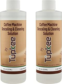 Descaling Solution Coffee Machine Descaler - For Drip Coffee Maker, nespresso, delonghi, and Keurig Coffee Machine Descaling & Cleaning Solution, Breaks Down Mineral Buildup and Limescale - Pack of 2