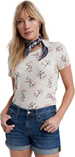 Lucky Brand womens ALL OVER FLORAL TEE Shirt