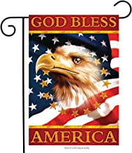 Briarwood Lane God Bless America Eagle Garden Flag Patriotic 4th of July 12.5