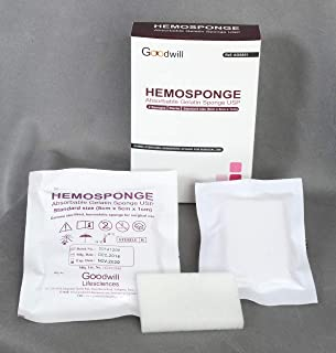 hemosponge Gelatin 80mm x 50mm x 10mm