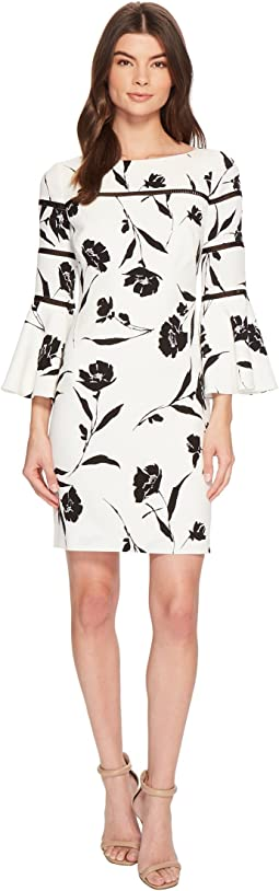 LAUREN Ralph Lauren - Mina Lovers Floral Stretch Crepe Dress