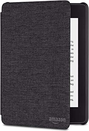 All-new Kindle Paperwhite Water-Safe Fabric Cover (10th Generation-2018), Charcoal Black