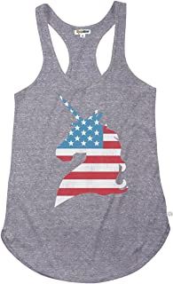 Tipsy Elves Women's 4th of July Tank Tops - Patriotic American Flag USA Tanks