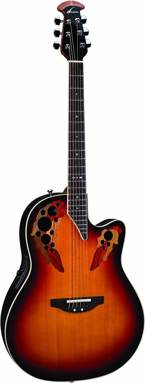 Ovation 2778 AX Standard Elite Deep Contour Guitarra Eléctrica, Nueva Inglaterra Burst