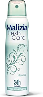 بخاخ مزيل رائحة العرق لمدة 24 ساعة شفاف من ماليزيا فريش كير سعة 150 مل