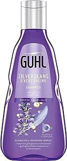 Guhl Zilverglans & Verzorging Shampoo -met Noni + Olie - voor grijs of blond haar - 250 ml