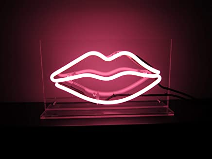 Lips Neon Sign