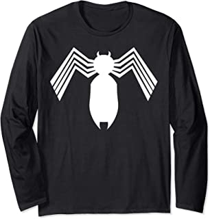 Marvel Spider-Man Arachnid All White Logo Manche Longue