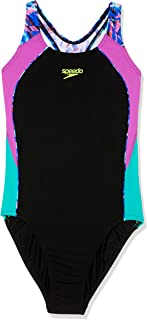 Speedo Kids Sport Image ONE Piece, Black/Rays Splice