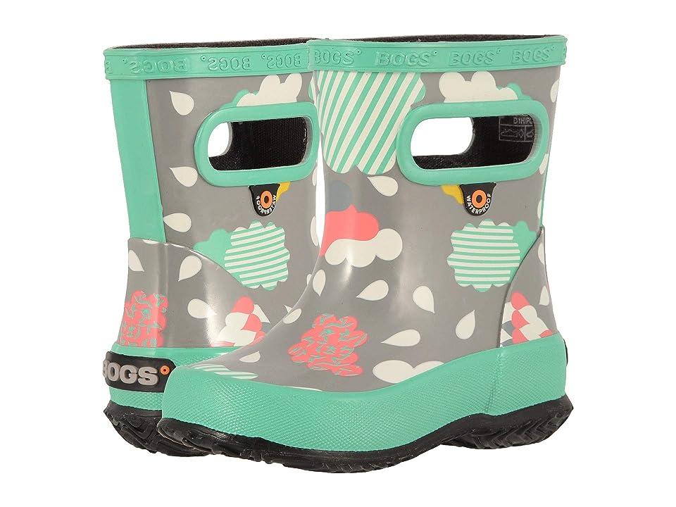Bogs Kids Skipper Clouds (Toddler/Little Kid) (Gray Multi) Girls Shoes