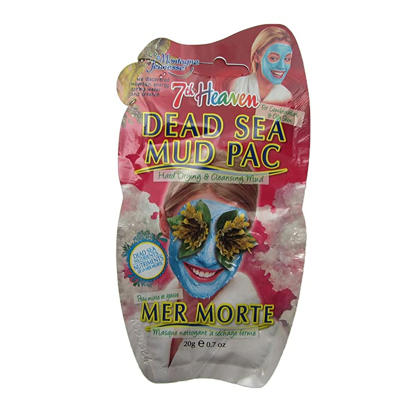 肌寒い法律幻影Montagne Jeunesse Dead Sea Mud Pac 20gr [並行輸入品]