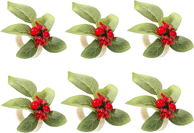 gift YMTECH Handmade Napkin Ring Sale price Holder Buckle Dini for –