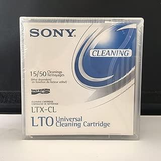 Sony LTX-CL LTO Cleaning Data Tape Cartridge (Sony LTX-CL- 50-Pass)