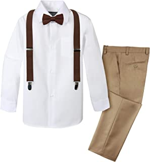 Boys' 4-Piece Suspender Outfit