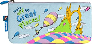 Oh The Places (Emotive) Small Pencil Case for Kids and Young Adults at School or Work
