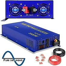 XYZ INVT 3500 Watt Pure Sine Wave Inverter 36V DC to 120V AC, 3500W Power Invert Surge 7000W Power Converter for Solar System.(3500W 36V 120V)