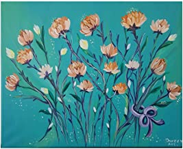 Hand painted flowers painting size 40×50cm