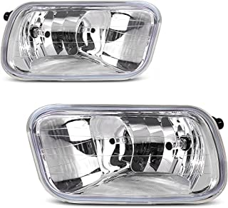 AUTOSAVER88 Fog Lights H10 12V 42W Halogen Lamp for 09-12 Dodge Ram 1500/2500/ 3500 /Pickup Truck Left & Right Side Fog Lamps Pair
