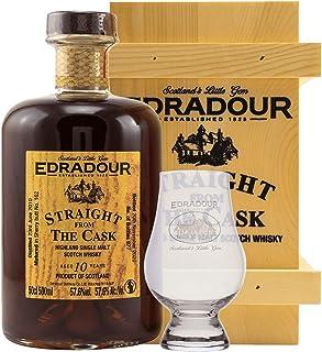 Edradour SFTC - 10 Jahre - 2010/2020 - Sherry Butt - Cask No. 407 - Single Malt Whisky  1 Glas