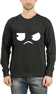 GOODTRY G Men's Cotton Printed Sweatshirt- Eyes