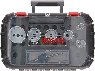 Bosch Professional 9-delars hålsågssats Progressor for Wood & Metal (för elektriker, tillbehör borrmaskin)